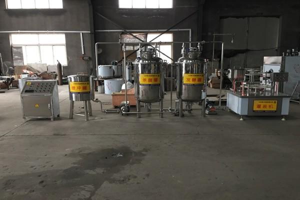 多功能酸奶生产线
