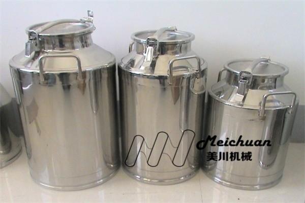 奶吧设备-不锈钢奶桶