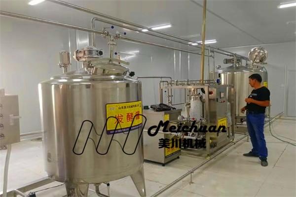 老酸奶生产线托克逊县宝贵心农业开发有限公司现场